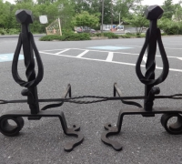 234-antique-iron-andirons