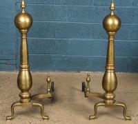 07a-brass-andirons-44-h