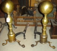 37-antique-brass-andirons