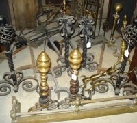 38-antique-iron-and-brass-andirons