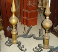 42-antique-brass-andirons