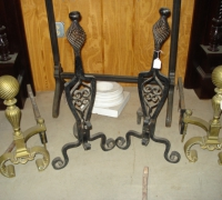 49-antique-iron-and-brass-andirons