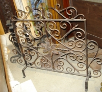 55-antique-iron-fireplace-screen