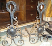 57-antique-gothic-iron-andirons