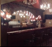 04...AL CAPONE BAR FROM CHICAGO...TOPAZ LOUNGE...C. 1880....24 FT. L X 11' 6