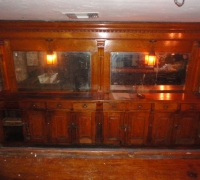 1173- sold -antique-back-and-front-bar-14-ft-long