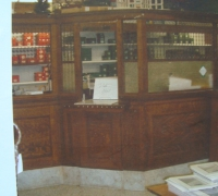 6008 -sold-antique-back-bar-antique-bank-wall