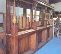 6020  -sold-antique-back-bar