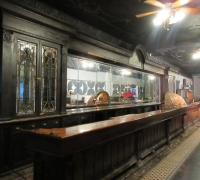 12D....OAK 12' H X 40' LONGEST ANTIQUE FRONT & LONGEST 65' BACK BAR IN THE USA....SEE 612 TO 629 & 1052 to 1111