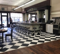 6078....22 FT. X 10 FT 9 IN, H SODA FOUNTAIN....SEE 934 TO 939