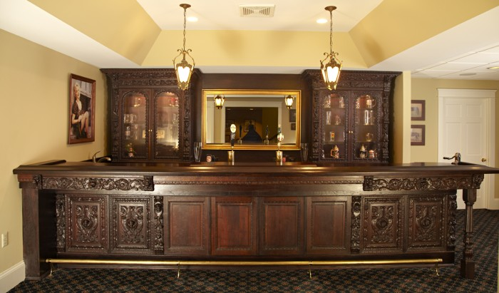 antique back bar small antique home bar amp back bars for in 1254