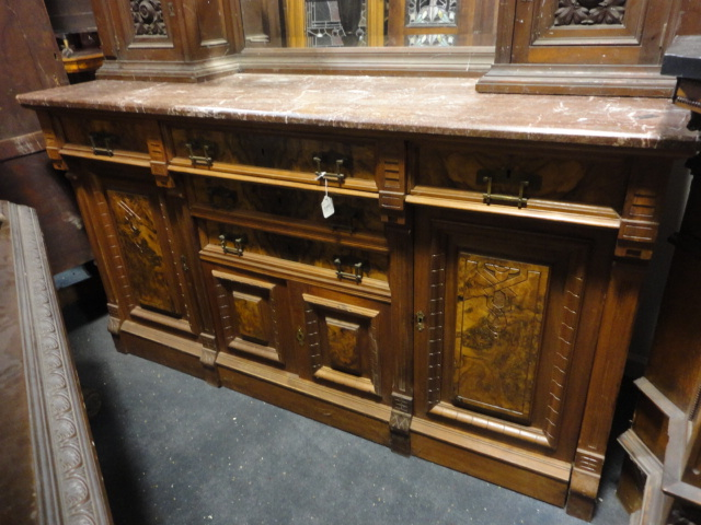 Antique home bars back bars for sale oley valley for Sideboard 300
