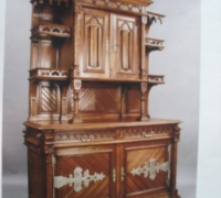 1619-antique-gothic-style-back-bar-6-ft-wide