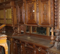 093-antique-back-bar-tall-sideboard