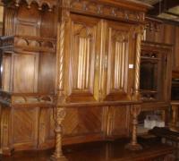 136-antique-back-bar-antique-tall-sideboard