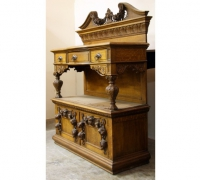 145-antique-back-bar-antique-tall-sideboard