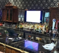 30...ANTIQUE FRONT AND BACK BAR@ HARD ROCK BAR IN PHILA. PA.