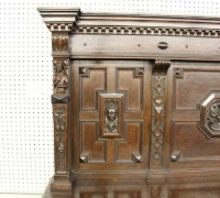1658....OAK SIDEBOARD 78