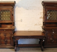 57A....PAIR CAN BECOME AN ANTIQUE BACK AND FRONT BAR LIKE 1B, 1C & 42