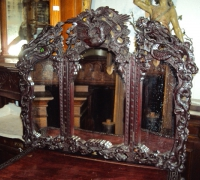 104-antique-carved-triple-mirror