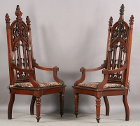02-2-antique-carved-gothic-chairs-with-arm-rests