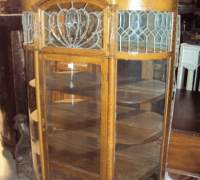 25- sold - antique-carved-leaded-glass-china-closet