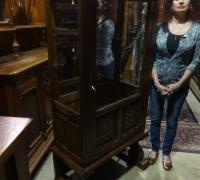 33- sold - antique-carved-display-cabinet