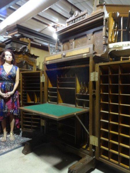Antique Carved Desks For Sale In Pennsylvania Oley