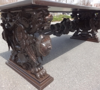 01-one-of-the-finest-carved-antique-desks-ever-walnut-98-x-42-x-33h-more-pictures-pg-6