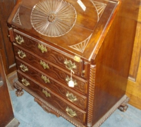 34-antique-slant-front-carved-desk