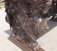 118-great-antique-carved-desk-98-x-42-x-33