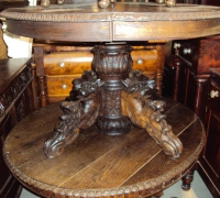 45-antique-carved-pedestal-desk