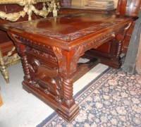84-sold-antique-griffin-carved-desk