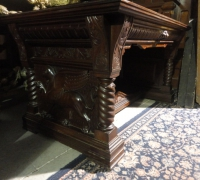85-sold-antique-griffin-carved-desk