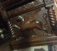 86-sold-antique-griffin-carved-desk