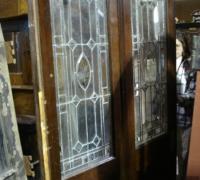 873 - *antique-beveled-glass-doors