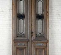 61...WOOD AND IRON DOOR 143