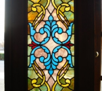 20C....antique-stained-glass-door