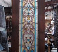 117-antique-stained-glass-door