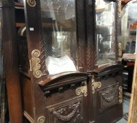 13A GREAT ANTIQUE CARVED DOORS 65 1/2