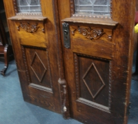 141-antique-beveled-glass-matching-carved-pairs-of-doors-with-different-antique-beveled-glass