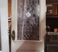 151-sold - antique-beveled-glass-door