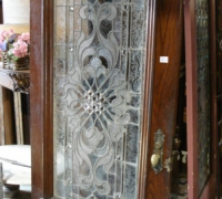 155-sold-antique-leaded-glass-door