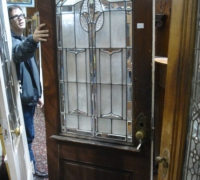 163-antique-beveled-glass-door