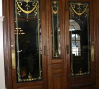 169-sold - antique-carved-wood-hotel-doors-3-matching-sets-1-88w-1-110-w-1-120
