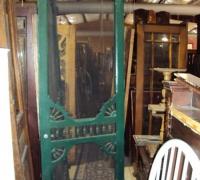 198- sold -antique-wood-screen-door
