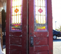 202 -antique-stained-glass-doors