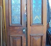 203-sold -antique-leaded-glass-doors