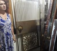 20Z....BRONZE & IRON BANK VAULT DOOR...31.5