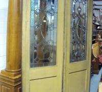 217- sold -antique-beveled-glass-doors